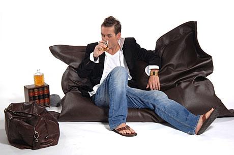 Sitzsack Aus Leder lounge kissen sitzsack sitzkissen rattan gartenmöbel und rattan